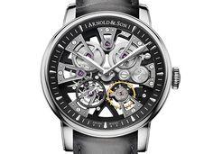 La siempre extraordinaria, Arnold & Son, presenta otro adelanto de lo que se vendrá en el #BaselWorld2016: su nuevo reloj #Nebula.