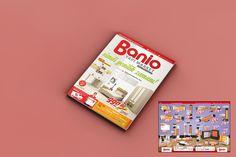 Production catalog (insert) design for Banio.