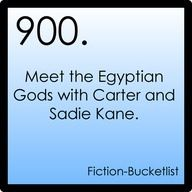 900 ~ Meet the Egyptian Gods with Carter and Sadie Kane