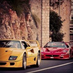 """@superstreet's photo: """"Pair of Aces #superstreet #ferrari #exotics #tbt"""""""