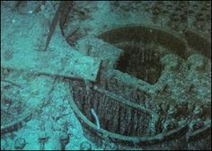 A boiler from the Titanic
