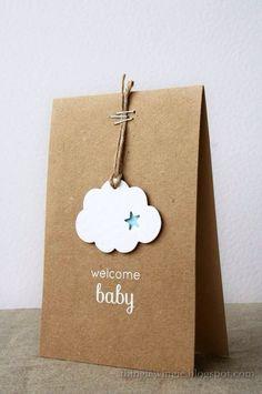 cloud star baby shower gift favor dessert bag