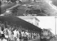 Areal na Barra da Tijuca e início da urbanização em Campo Grande  (Crédito: Reprodução / internet)
