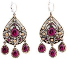 Sultan Silver earrings inspired by Muhtesem (Earring)