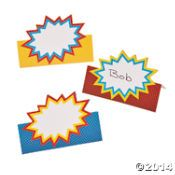Superhero Party Supplies & Decorations - Oriental Trading