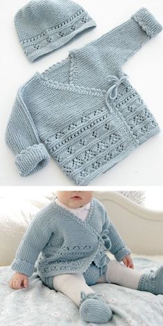 Baby Knitting Patterns Free Newborn, Baby Cardigan Knitting Pattern Free, Baby Sweater Patterns, Kids Knitting Patterns, Knit Baby Sweaters, Knitting For Kids, Girls Sweaters, Knitting Designs, Baby Patterns