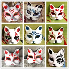 Marvelous Learn To Draw Manga Ideas. Exquisite Learn To Draw Manga Ideas. Kitsune Maske, Japanese Fox Mask, Character Art, Character Design, Arte Ninja, Mask Drawing, Cat Mask, Masks Art, Anime Outfits