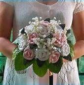 free crochet wedding bouquet patterns - Bing Search