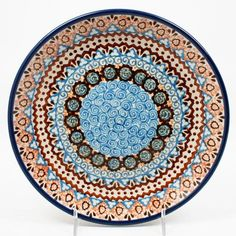 polish-pottery-dessert-plate-#1359