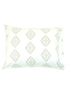 Bamboo Dreams® Midara Print Bedding - Green Tea/Natural, queen comforter cover, $220