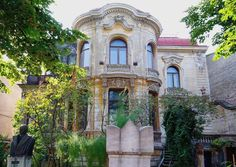 Casa Macca Bucuresti Institutul de Arheologie Vasile Pârvan Bucharest Romania architecture little paris - built late century, and sadly, being allowed to decay. Historic Architecture, Art And Architecture, Visit Romania, Little Paris, Bucharest Romania, Europe, House Built, Decay, 19th Century