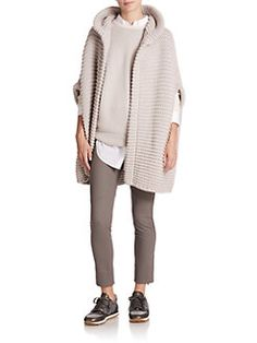 Brunello Cucinelli - Hooded Cashmere Cardigan