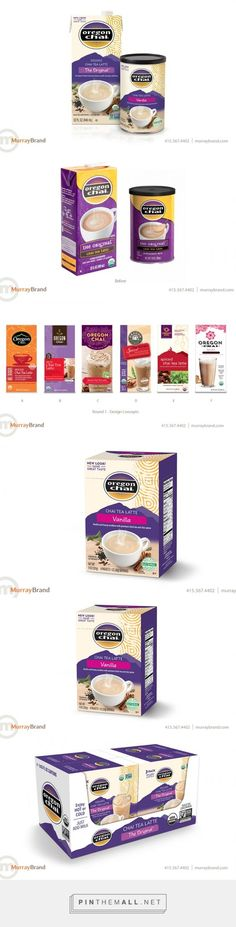 Oregon Chai Packaging Redesign -  Packaging of the World - Creative Package Design Gallery - http://www.packagingoftheworld.com/2016/05/oregon-chai-packaging-redesign.html: