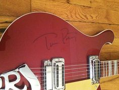 Tom Petty autugraphed Rickenbacker