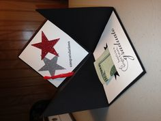 Graduation hat gift card/ money holder card. Easy to make used Stampin Up stamps and ink. Perfect gift for any grad.