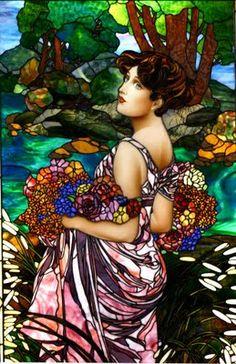 Irina McAuley's art: Amazing stained glass works!