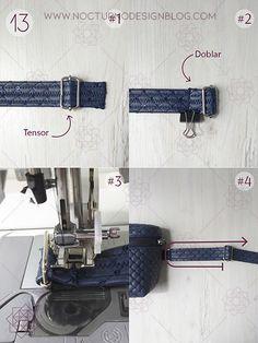 aro Diy Purse, Design Blog, Blue Jeans, Purses, Sewing, Belt Bags, Pattern, Cross Body, Accessories