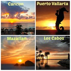 Which sunrise in Mexico would you like to wake up to?  #travel #Mexico