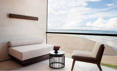 Alila Seminyak in Seminyak - Best hotel rates - Vossy Luxury Hotel Design, Luxury Hotels, Balinese Decor, Wallpaper Magazine, Home Living Room, Decoration, Floor Chair, Furniture Design, Interior Design