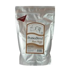 "PROBIO BLEND - 2.5 LB by ProbioBlend. $49.95. Optimizes feed. probioBlend helps support and maintain a healthy balance of the digestive system and boost fiber abosorption. Digestive aid. Formulated to help horses utilize and absorb more nutrients from their daily ration (hay, grain, etc).  In most cases you can reduce or eliminate the amount of ""grain based feed"" and still maintain the same energy (stamina) and body condition score.  Reducing ""grain based feed"" keeps th..."