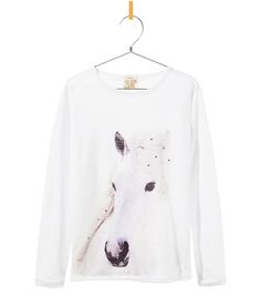 Mooi meisjes shirts met Paardenprint