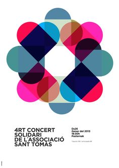 Graphic Design / Poster Inspiration / Solidary Concert poster on Behance
