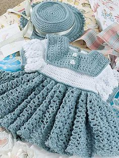 Ravelry: Spruce Dress & Hat pattern by Robin L. Murphy