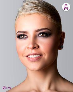 Desideri per il tuo #matrimonio tocco di eleganza senza necessariamente l'aggiunta di accessori per #capelli? Hai mai pensato a un #taglio #corto?!