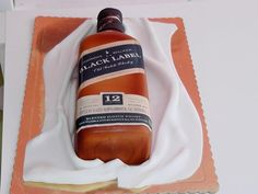Black Label Whiskey cake