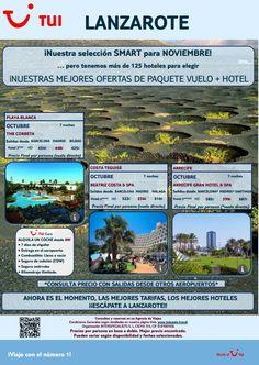 #Lanzarote es otra de nuestras ofertas #smart para este mes de noviembre