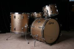 '67 Ludwig Hollywood Kit, Champagne Sparkle