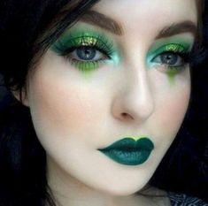 41 Adorable Eye Makeup Looks . - 41 Adorable Eye Makeup Looks Like Green Eyes – DIY Fashion – Make up – make up - Green Eyeshadow Look, Makeup For Green Eyes, Eyeshadow Looks, Green Lipstick, Eyeshadow Tips, Eyeshadow Makeup, Dramatic Eyeshadow, Orange Eyeshadow, Dark Eyeshadow