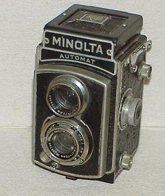 c39b5f2841f Minolta Automat Tiyoko TLR Twin Lens Camera Promar 75mm F 3 5 Lens Old  Cameras