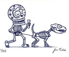 Day of the dead -- friendship lasts forever