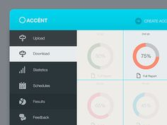 50 Examples of Dashboard UI Designs