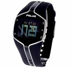 Pulsuhr / Herzfrequenzmesser - FT80 Black #heartwatch #running #motivation