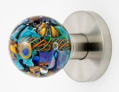 Beach #Doorknob by Out of the Blue Design Studio