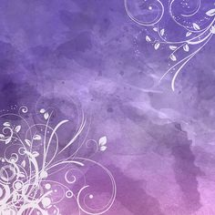 Free floral watercolour background