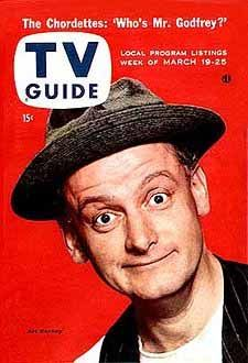 tv guide cover 1955