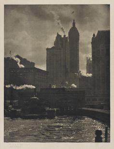 Alfred Stieglitz, The City of Ambitions, New York, 1910.
