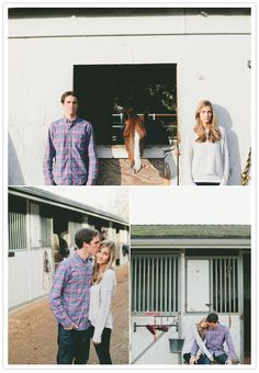 stables engagement session