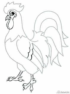 Chicken crafted out of seeds. This reminds me of the roosters Aunt Marion did for Grandpa. Stained Glass Patterns, Mosaic Patterns, Pattern Art, Rooster Painting, Rooster Art, Chicken Crafts, Chicken Art, Animal Coloring Pages, Colouring Pages