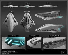 Renaud Interstellar Battleship
