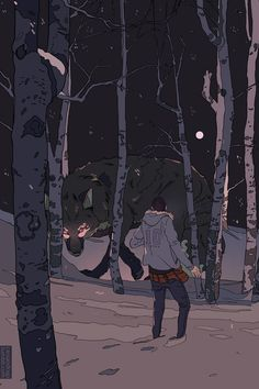 Kitsune at Night Art Print by Cassandra Jean - X-Small Cassandra Jean, Art Anime, Anime Kunst, Art And Illustration, Male Character, Character Design, Inspiration Art, Art Inspo, Street Art
