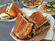 Sandwiches and Salads at Union Pasadena's Take-Away Lunch
