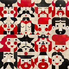 Facemaker blocks by miller goodman.