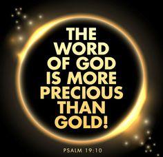 Read Psalm 19:10. Online Bible.
