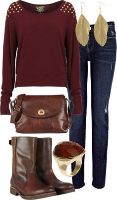 A great fall look for all the WOW.