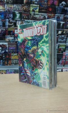 THUNDERBOLTS VOL 1 COLECCION COMPLETA (40 NUMEROS) $50