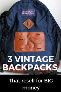 These 4 Vintage Backpacks and Tote Brands will resell online for top dollar. Tips on what to look for and the styles that are highly sought after. Ll Bean Backpack, Tote Backpack, Prada Backpack, Herschel Backpack, Backpack Camping, Gucci Handbags, Luxury Handbags, Purses And Handbags, Vintage Backpacks